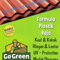Atap Go Green - Panjang 300cm