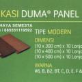 Duma Modern (5 Meter) - Duma Panel WPC