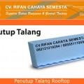 Penutup Talang Rooftop - Atap UPVC