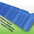Wuwung Formax / Bubungan Formax / Nok Formax / Top Ridge Formax Roof