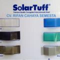 Solartuff ( 1,8 M ) / Atap Transparan / Atap Polycarbonate Corrugated