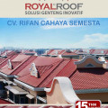3 Way Ridge ROYAL®Roof / Atap UPVC Royal Roof