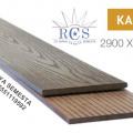 KA150S10 - Pagar WPC / Decking WPC / Lantai WPC / Lantai Kolam Renang
