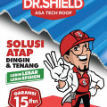 Atap UPVC DR.Shield - 7 Meter (Double Wall) Lebar Efektif 1065 mm