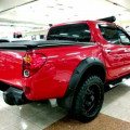 Mitsubishi Strada Triton 4x4 Double Cabin Thn 2013 Warna Merah 2.5cc DIESEL