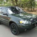 DIJUAL - FORD ESCAPE 3.0 V6 XLT A/T thn.2004 , warna HIJAU ARMI METALIK kondisi sangat GAGAH TERAWAT