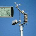 ANEMOMETER PCE-FWS 20 Weather Station with touch screen // HUB 082124100046