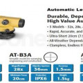 Jual Lengkap Set Topcon ATB4A Waterpass kondisi baru di 082217294199