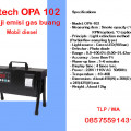 gas analizer mobil diesel qrotech opa 102