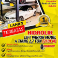 HIDROLIK LIFT PARKIR MOBIL 4 TIANG  1,7 meter
