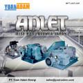 Root Blower ANLET Berbagai macam Type untuk pengolahan air Limbah