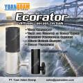 Diffuser Ecorator SEIKA untuk pengolahan air Limbah IPAL STP WWTP Aerasi Rumah makan