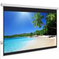 motorized screen projector 244cm x 244cm