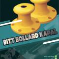 bollard dermaga - jual bollard bitt - bollard tee - bollard curve sulawesi
