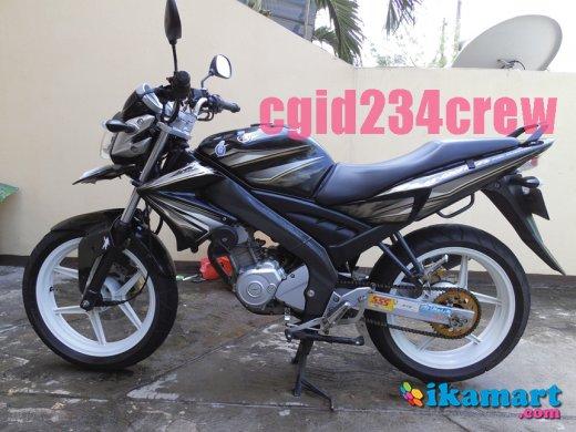 Jual Yamaha Vixion Old 2012 Hitam Modif Kaki Motor