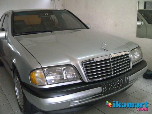 mercedes benz c 180 silver thn 1995