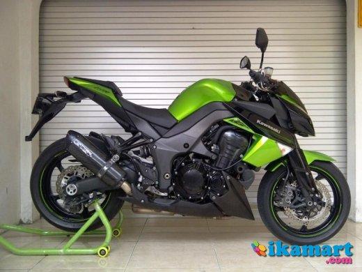 Jual Kawasaki Ninja Z1000 Green 2011 Motor