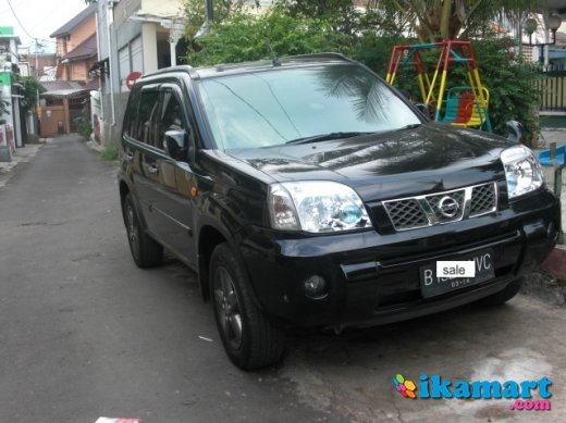 jual nissan xtrail st 2.5 a t v grill limited edition 2006