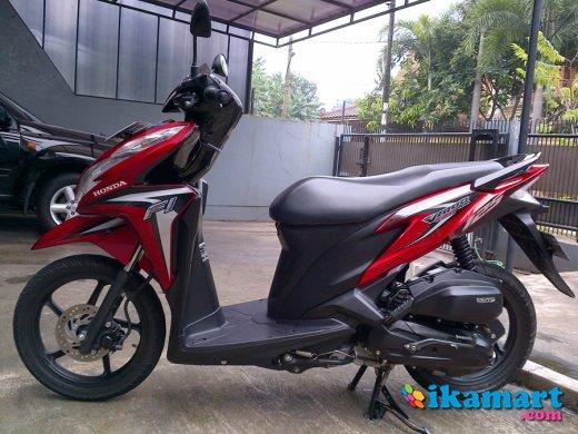 Honda Vario Techno 125 Pgm-fi Th 2012 Merah Orisinil