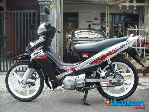 Modifikasi Jupiter Z 2005 Warna Hitam Putih Modifikasi Motor Terbaru