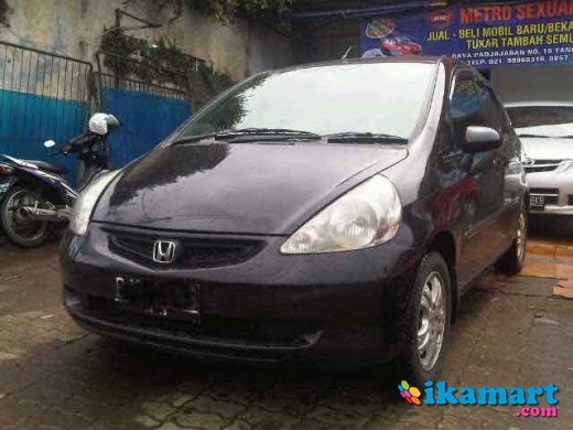 jual honda jazz 2006 manual murah