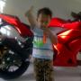 Jual Ninja 250 RR Red Tahun 2011