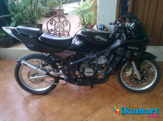 Jual Kawasaki Ninja 150 KRR Warna Hitam Tahun 2010  Jual Kawasaki Ninja 150  KRR Warna. Ninja Rr Warna Hitam