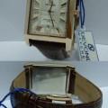DEVOND G3180 Squer Leather Strap (WBBR)
