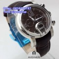 AIGNER Bary A37500 Leather (WHBR)