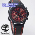 Timberland Chronograph Black Red