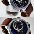 HARLEY DAVIDSON Dual Time HD-2014D Leather (BRW) for Men
