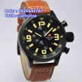 Swiss Army SA2087 Leather Strap (BLBR)