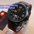 Swiss Army HC1128 Leather Strap (BLBR)