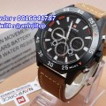 NAVIFORCE NF9043 Dual Time Leather Brown