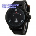 Swiss Army SA037MBR Black Leather