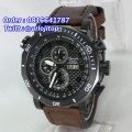 Alexandre Christie 6308MCBLBR Brown Leather