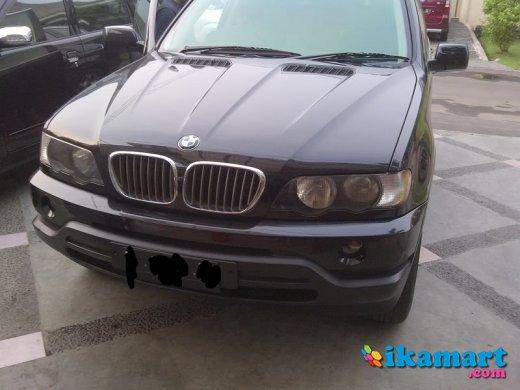 jual bmw x5 3.0 2002 original condition