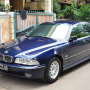 BMW 528i A/T, Steptronic 98, Mauritius blue Mint conditions