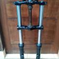 Shock Depan ex moge GSX750 Double kaliper