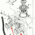 Karet  Box Filter & Manifold Suzuki Gsx750P