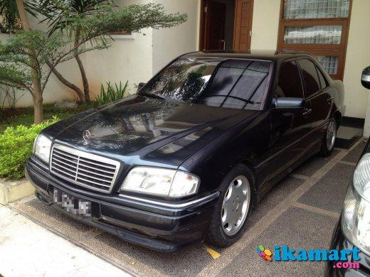 jual mercedes benz c200 elegance w202 1996 hitam