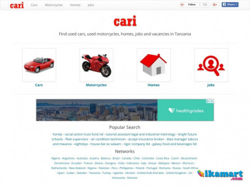 Find used cars, used motorcycles, homes, jobs and vacancies in Tanzania